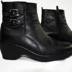 Women's Dansko Black Ankle Boot
